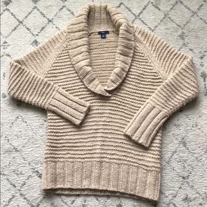 Chunky knit sweater by GAP
